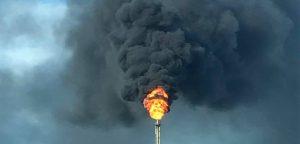 ExxonMobil flaring