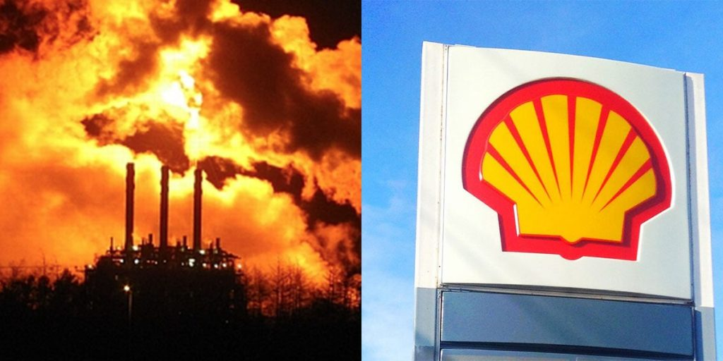 Shell Oil Corporation Burning Gas For Months Because They Can't Sell It -- Surrounding Communities Affected
