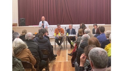 Around 120 people attend Mossmorran Action Group meeting