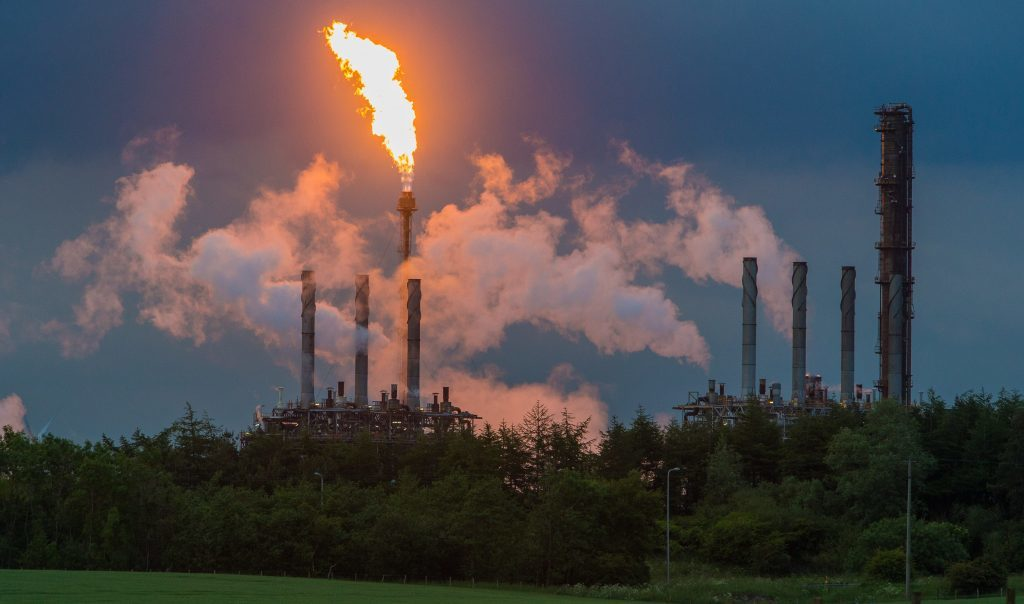 Focus Shifts to Scottish Environmental Protection Agency's Big Oil Interests as Flaring Continues at Shell-Exxon Plant