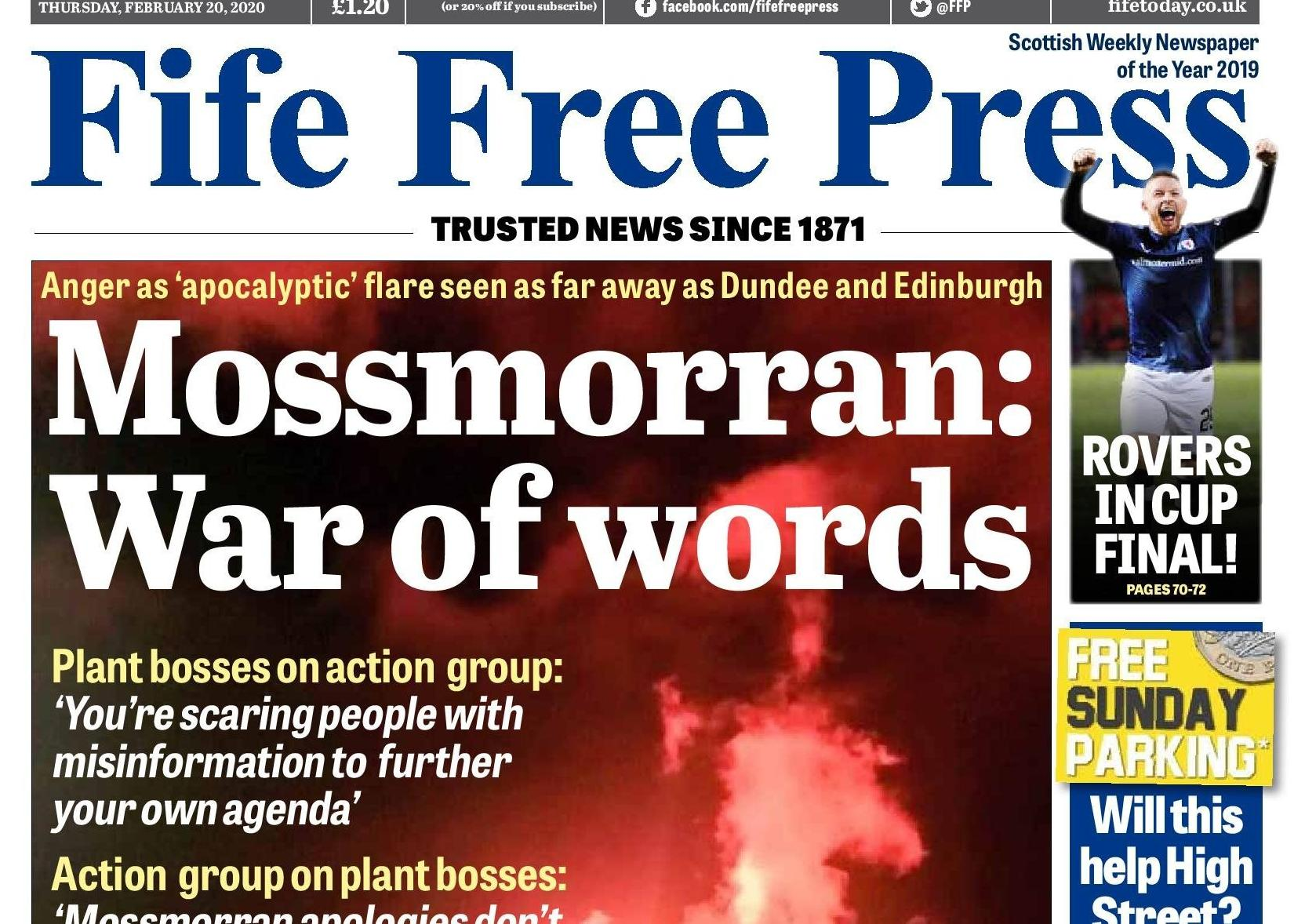 Comment: Time to end tit-for-tat words on Mossmorran