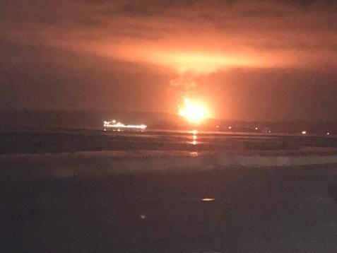 Huge flaring which could be seen from Edinburgh caused concern as Mossmorran chemical plant was restarted
