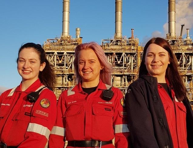Trio are tremendous examples of females in engineering