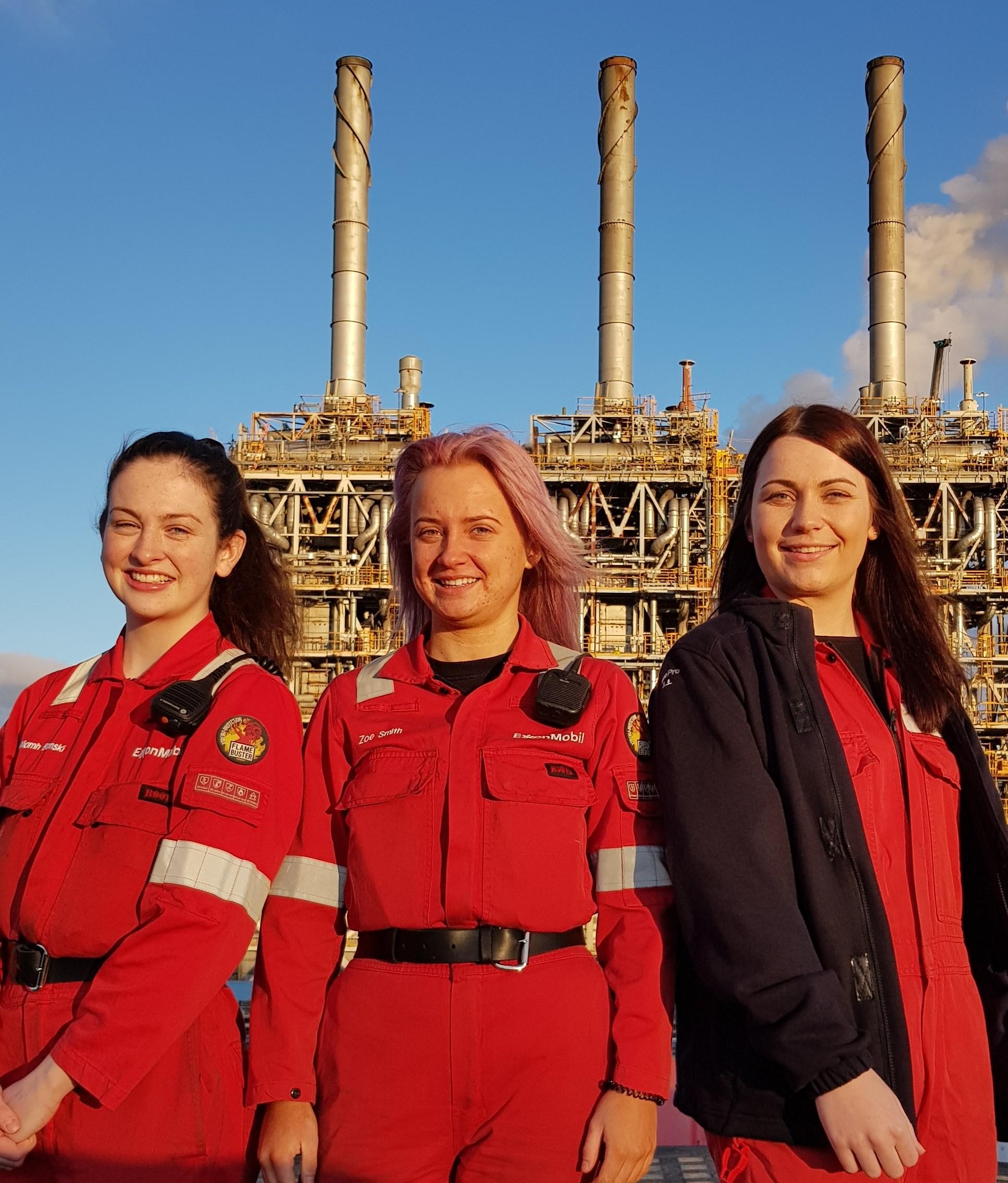 Dunfermline women excel in engineering