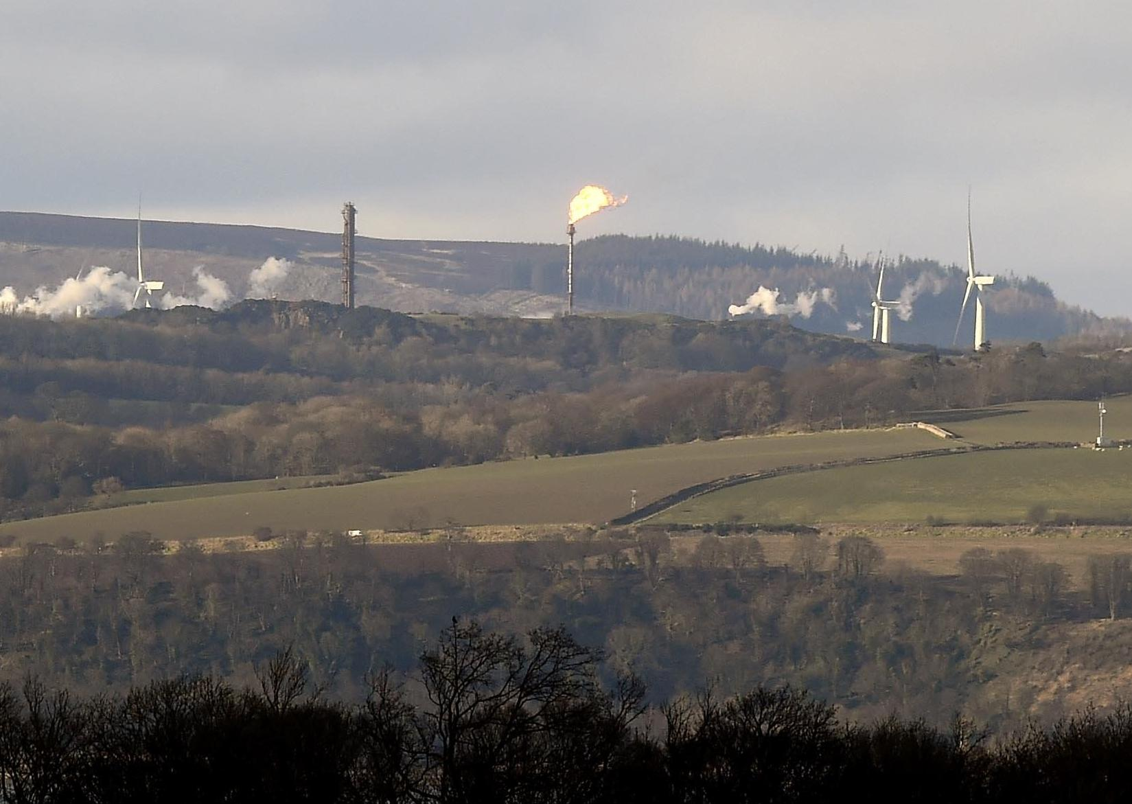 Mossmorran flare seen as far as Edinburgh