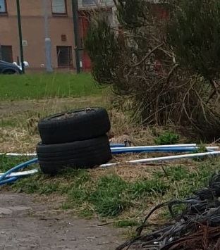 Tyre dumpers deserve to be very heavily fined