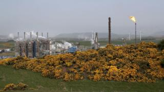 Flaring at Mossmorran