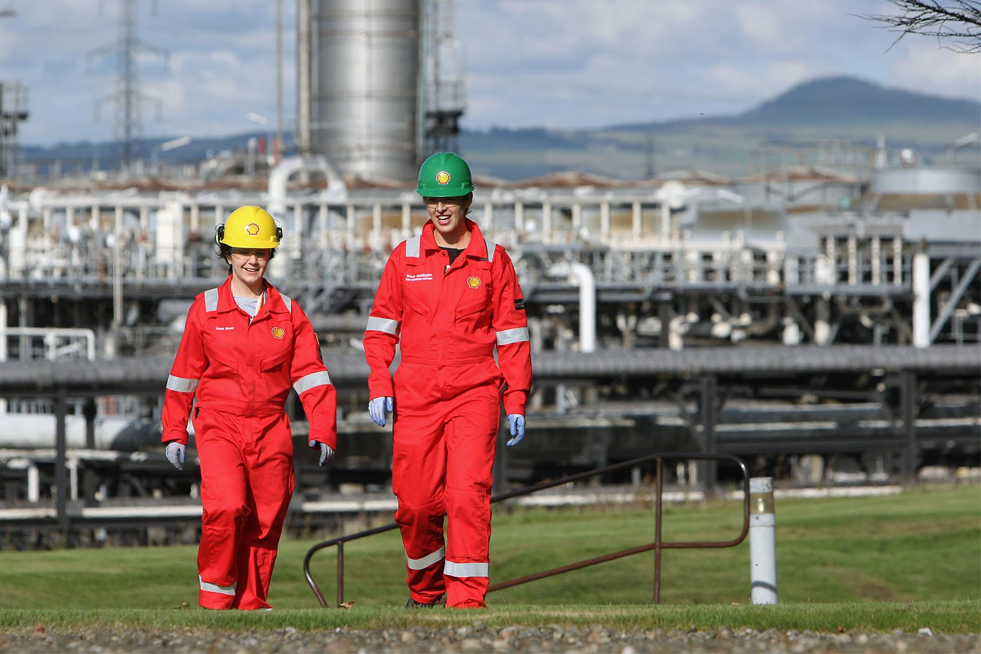 Flaring maintenance work at Mossmorran