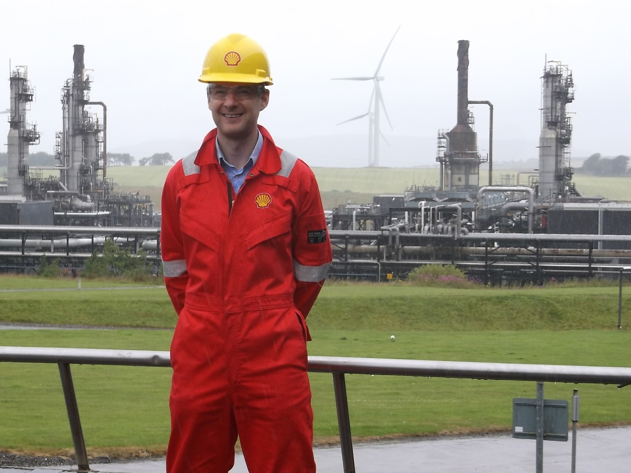 Craig Burnett is in charge of Shell operation