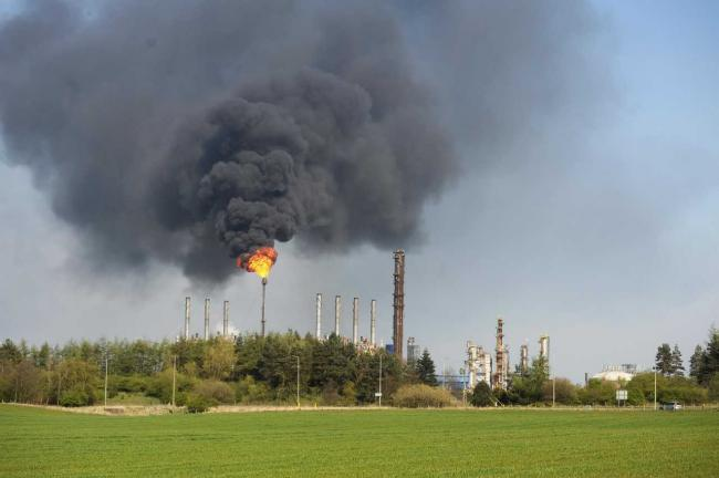 Storms: Mossmorran flaring stops following weather chaos