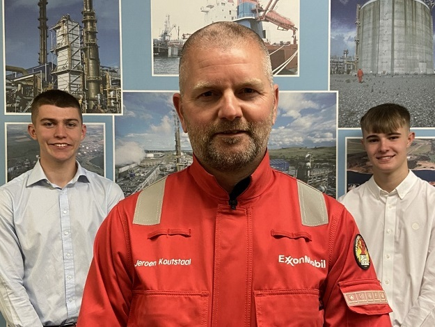Latest Mossmorran recruits visit the plant