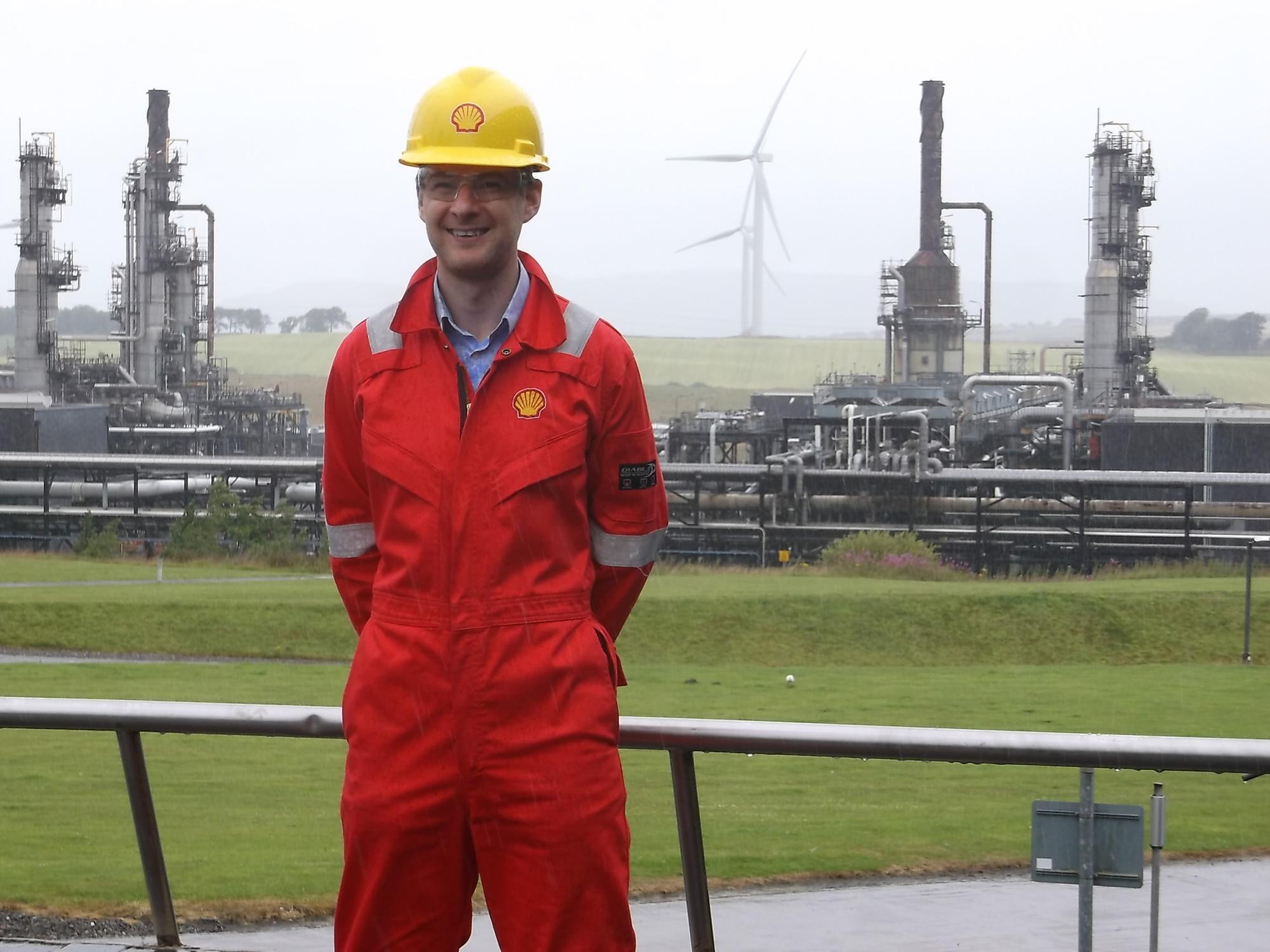 'Good neighbour' pledge from new Shell boss at Mossmorran