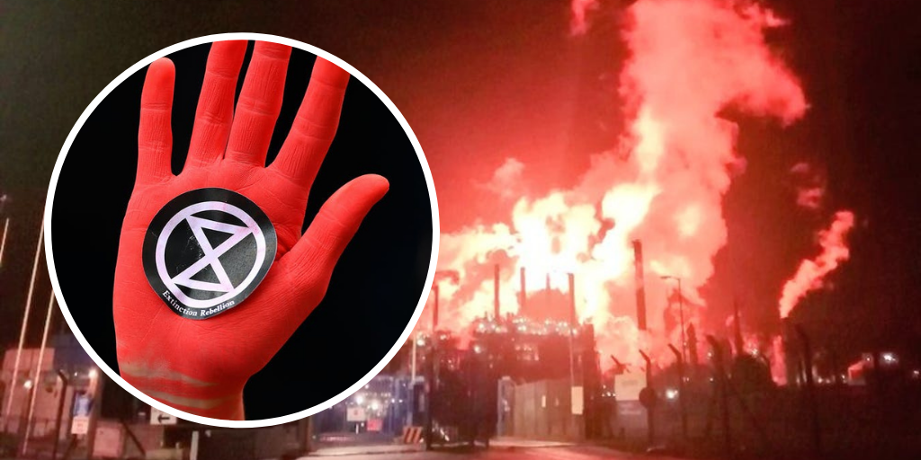 Extinction Rebellion protest to take place this weekend against elevated Mossmorran flaring