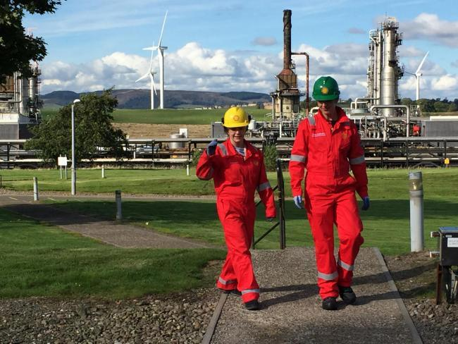 Mossmorran jobs to go as Shell UK play down union's safety fears