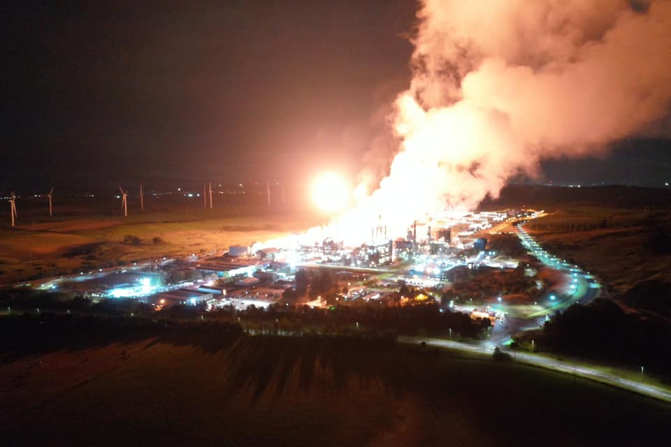 Press comment on flaring 6th October 2020