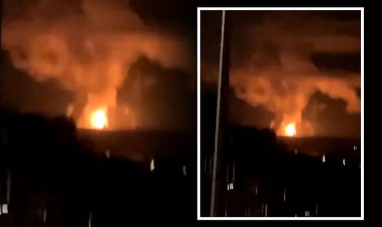 Edinburgh fire: Panic as fireball erupts over chemical plant in Scotland's capital | UK | News