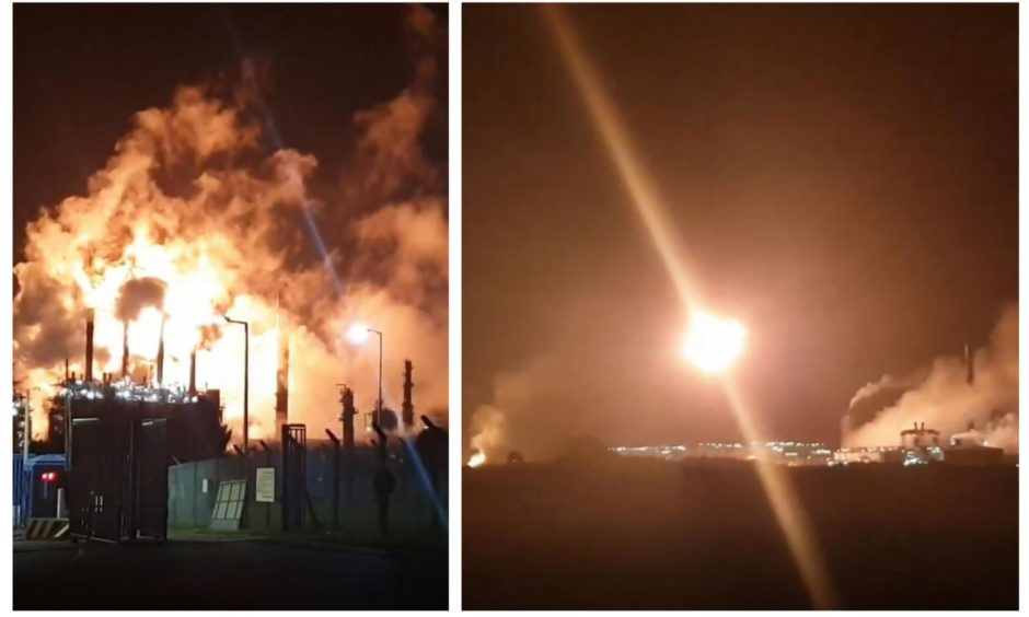 'We need to get out of here': Terrified resident almost fled home as Mossmorran flaring shook house