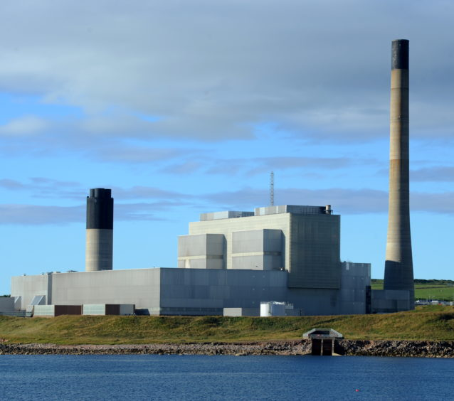 SSE operates the Peterhead Power Station, one of Scotland's biggest polluters
