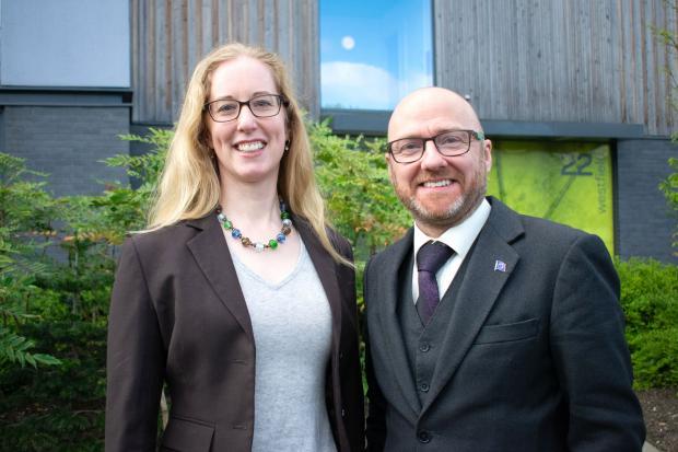 The National: Lorna Slater and Patrick Harvie