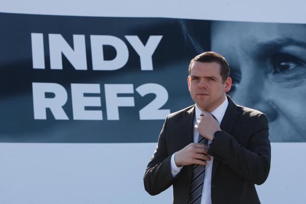 The National: Douglas Ross is widely considered to have been outshone by opponents in the leaders' debates so far
