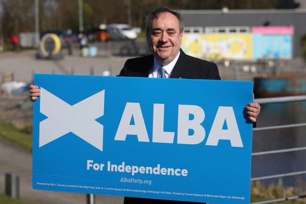 The National: Alex Salmond