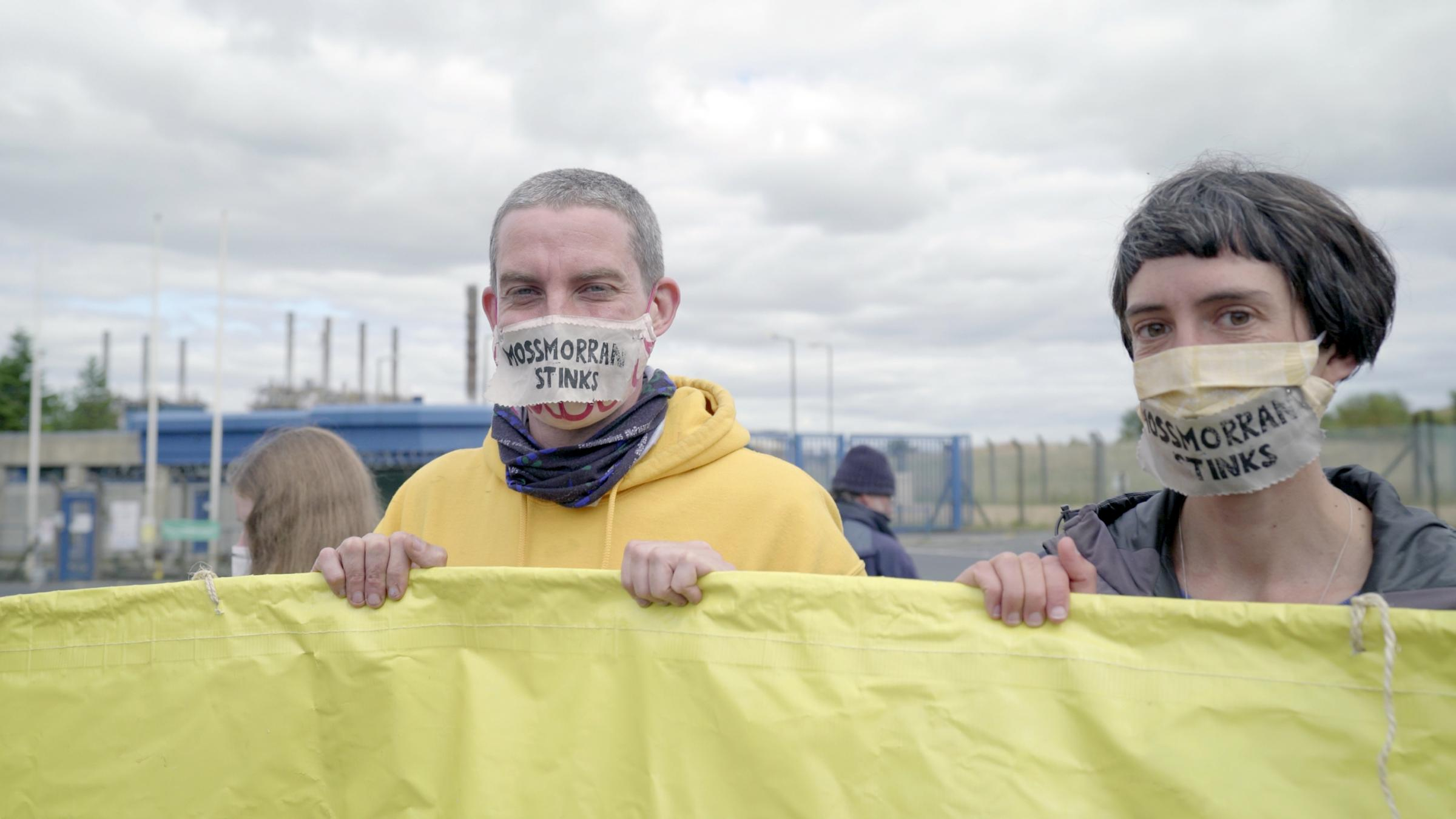 Mossmorran Action Weekend attracts over 100 climate change campaigners to Fife site